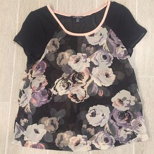 American Eagle Outfitters Sheer Top XS